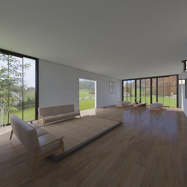 Japan  Interior Design Render