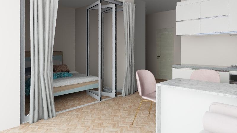 Маме Interior Design Render