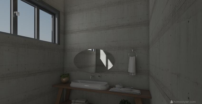 casa plant Interior Design Render