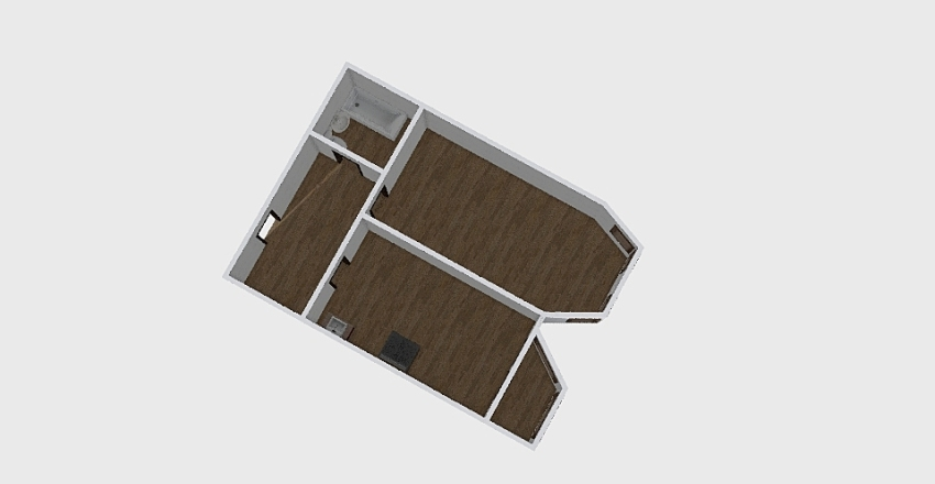 1-комн_0360 Interior Design Render
