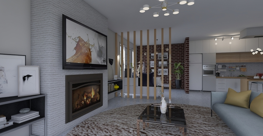 Simple me Interior Design Render