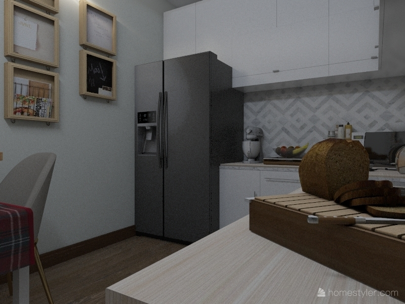 kitchen Interior Design Render