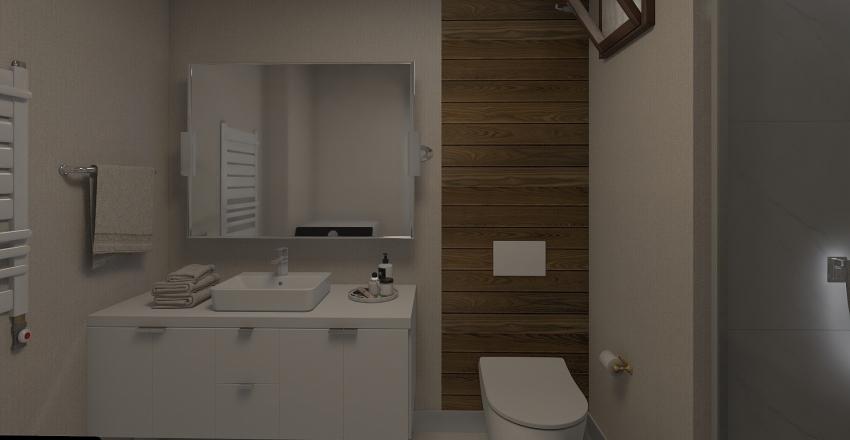 Banyo Interior Design Render
