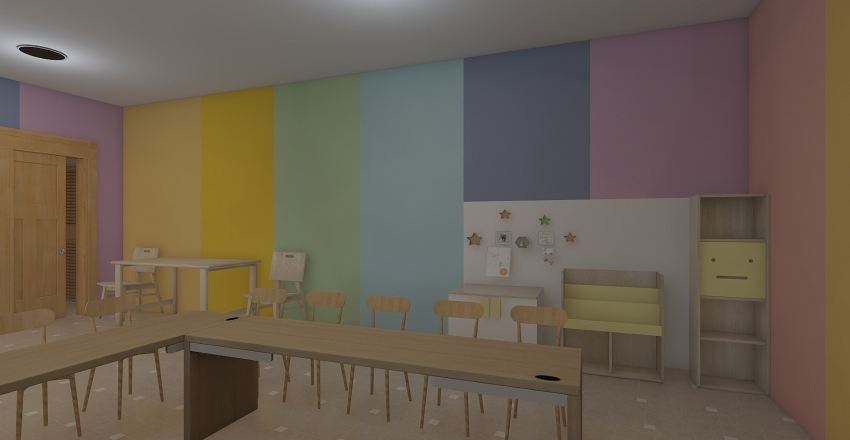 REMO-DELACIÓN DE PREESCOLAR  Interior Design Render