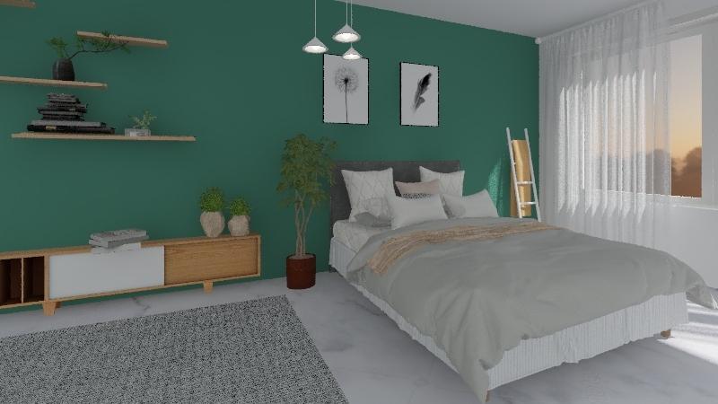 QUARTO MINIMALISTA Interior Design Render