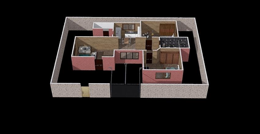 Casa TOm Interior Design Render