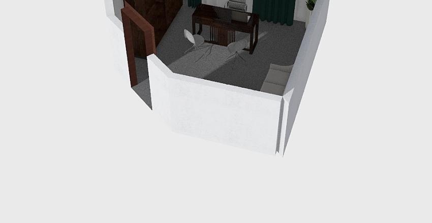 birou proiect Interior Design Render