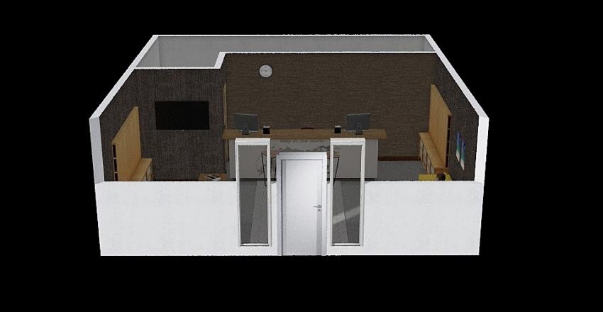 ОФИС555 Interior Design Render
