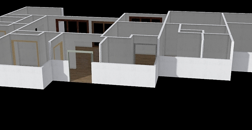 Floor plan1 Interior Design Render