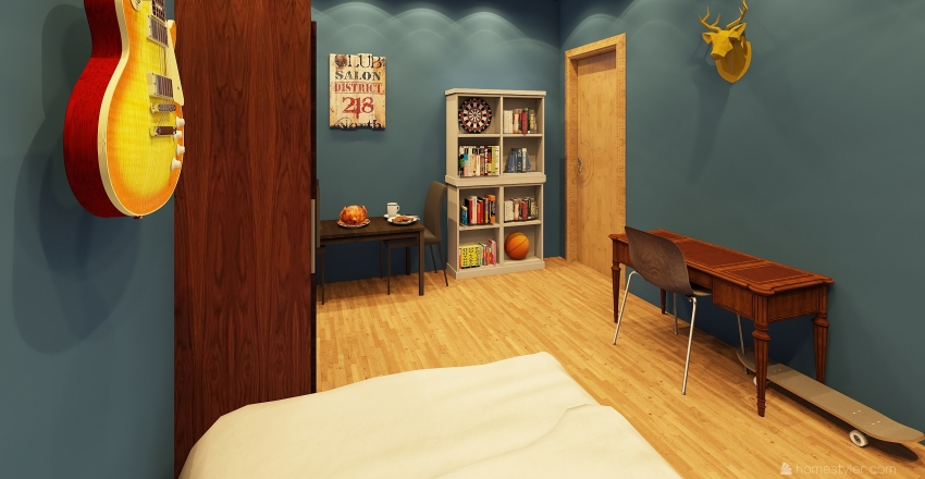 seventeen designs Interior Design Render
