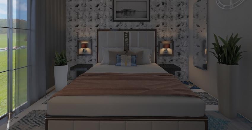 sypialnia 4 Interior Design Render