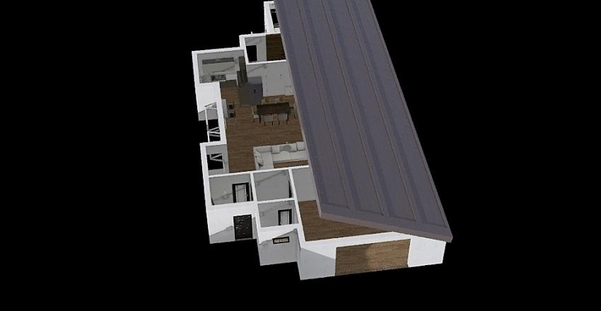Bszög Damjanich út 69 Interior Design Render