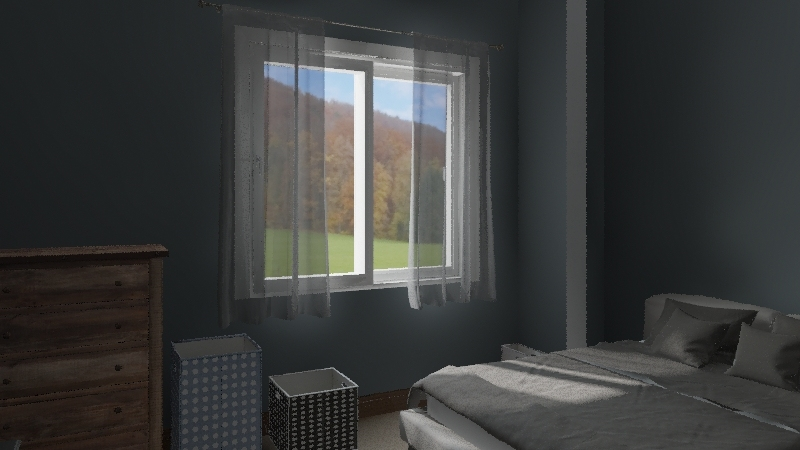 My Bedroom Interior Design Render