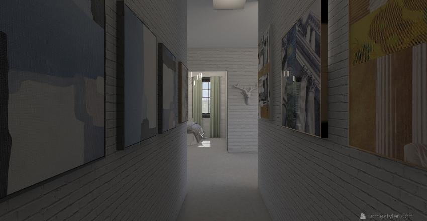 apartment 12 Interior Design Render
