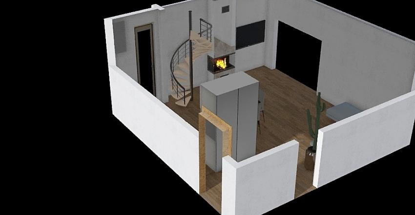Living NO Camino Interior Design Render