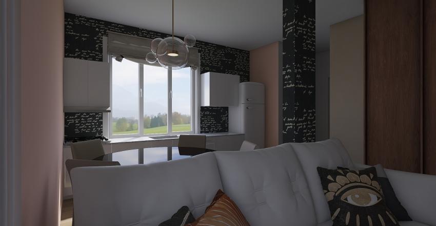 Ульянково Дом Interior Design Render