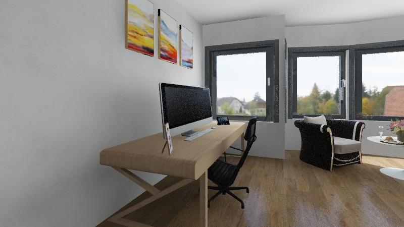master bedroom Interior Design Render
