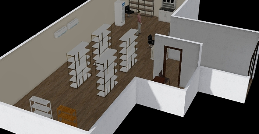 mencha Interior Design Render