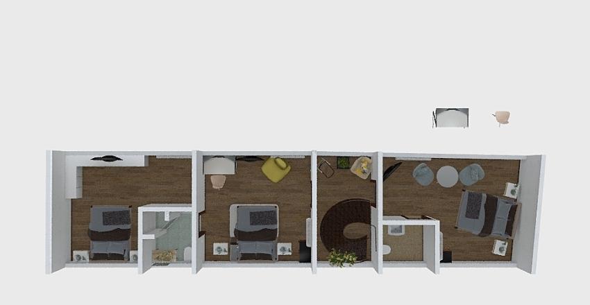 attic-m2 Interior Design Render