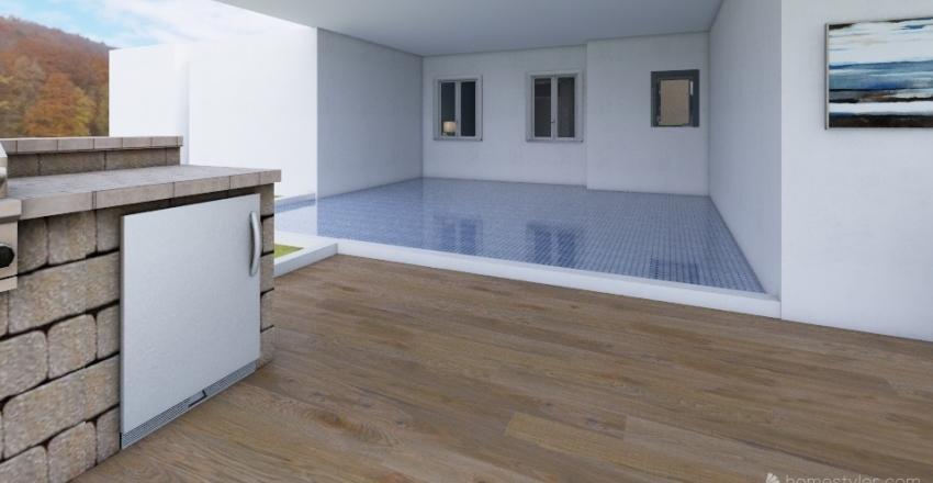 olivers bungalow Interior Design Render
