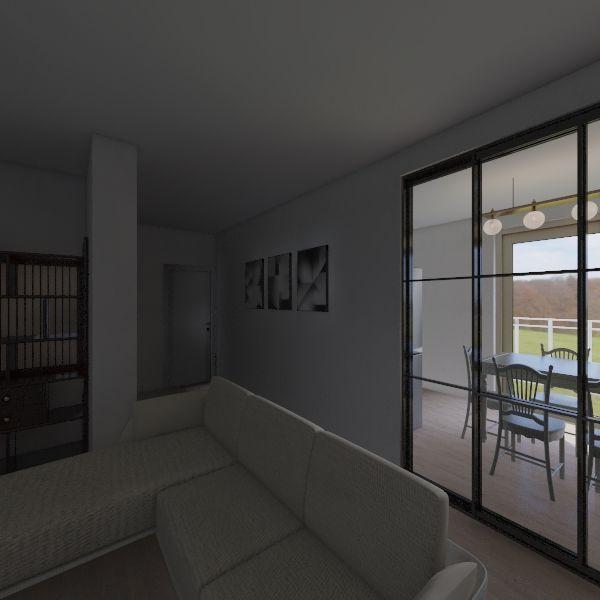 Via Maestri del lavoro, alternative design Interior Design Render