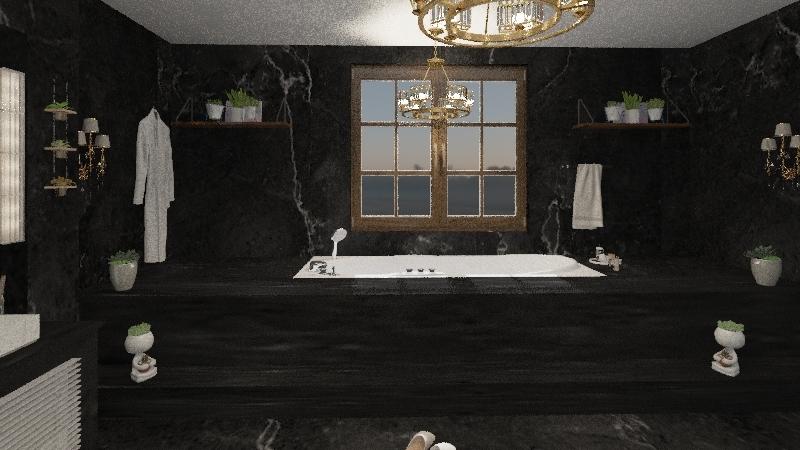BANHEIRO DE LUXO Interior Design Render