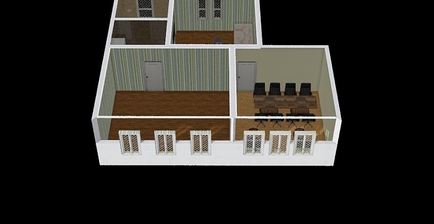 Workspace Interior Design Render