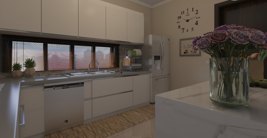 εξωχικο Interior Design Render