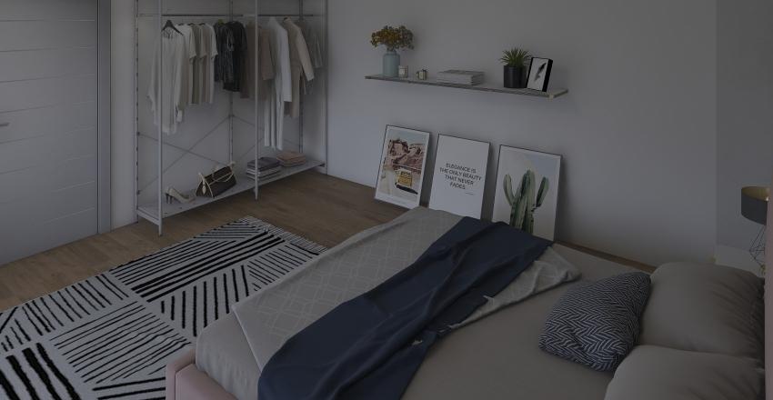 """Instagram"" room.  Interior Design Render"