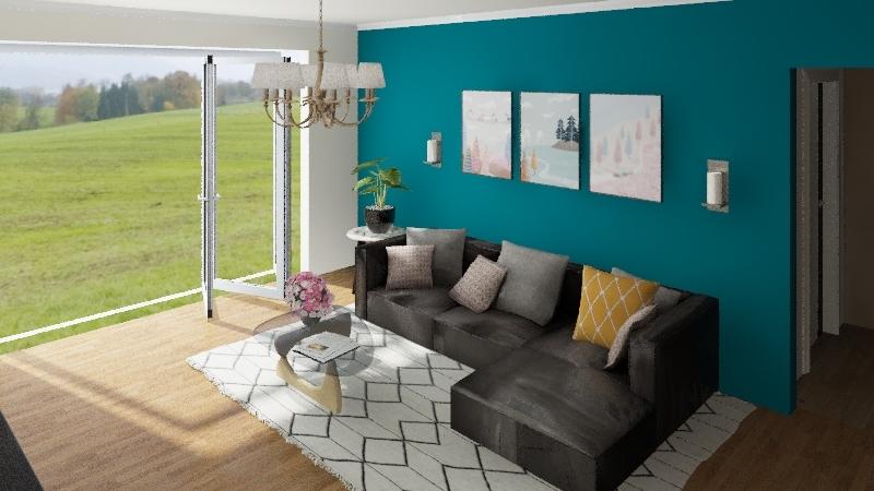 Tiny House #236sqm Lot Interior Design Render