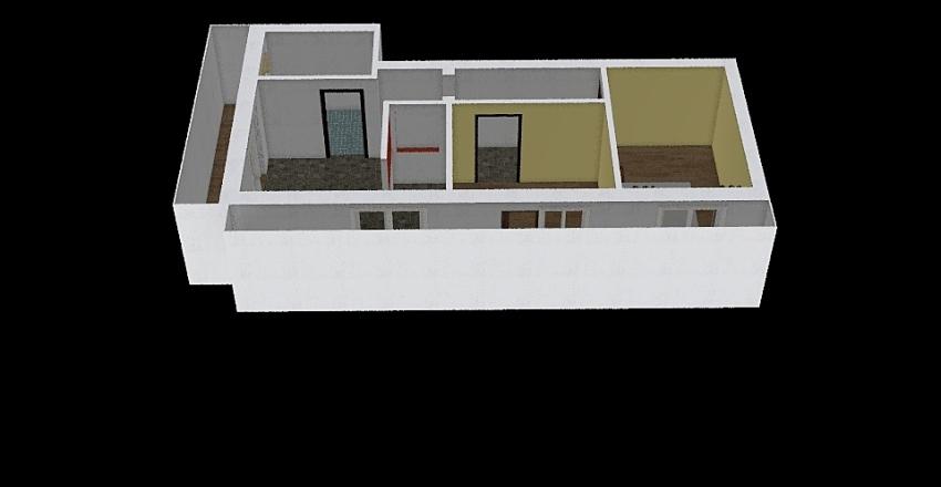 Apartament Vio + Vlad Interior Design Render