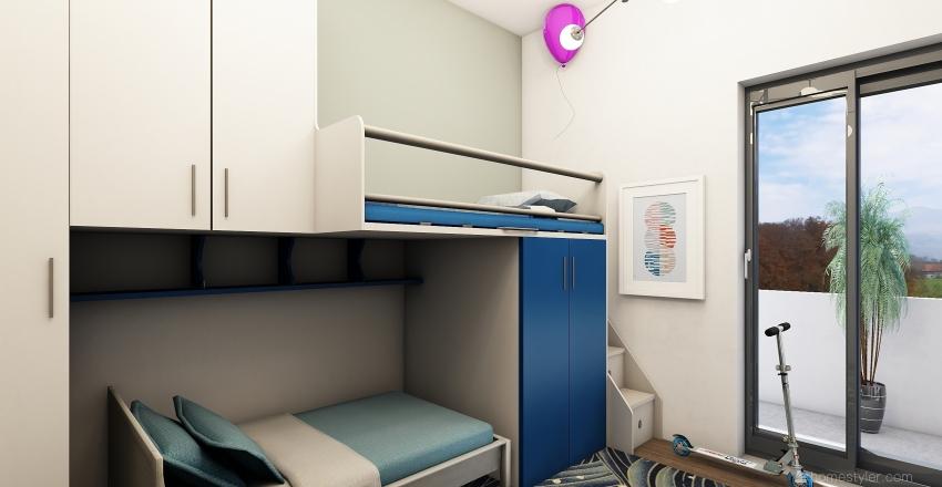 CORTILE BORRELLI, 44 Interior Design Render