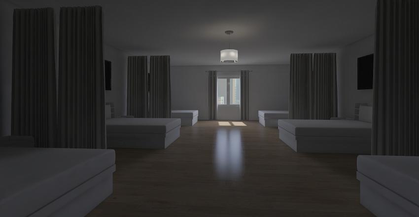 hospital melenzia Interior Design Render