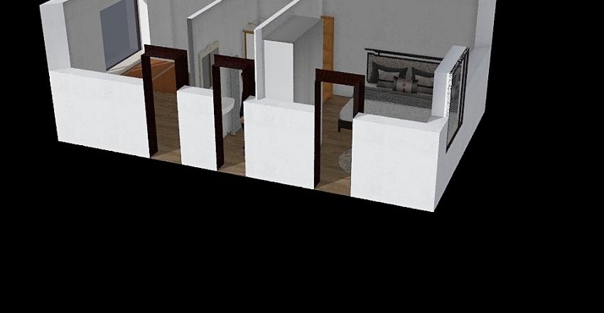 spodní patro koncept Interior Design Render