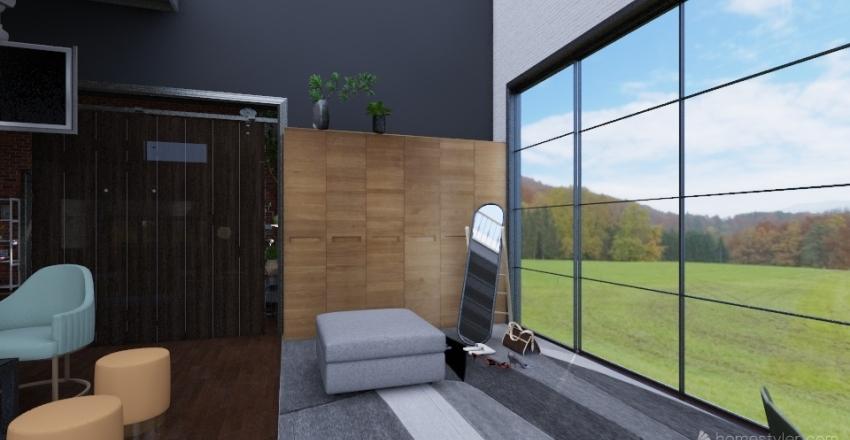 Modern Loft Interior Design Render