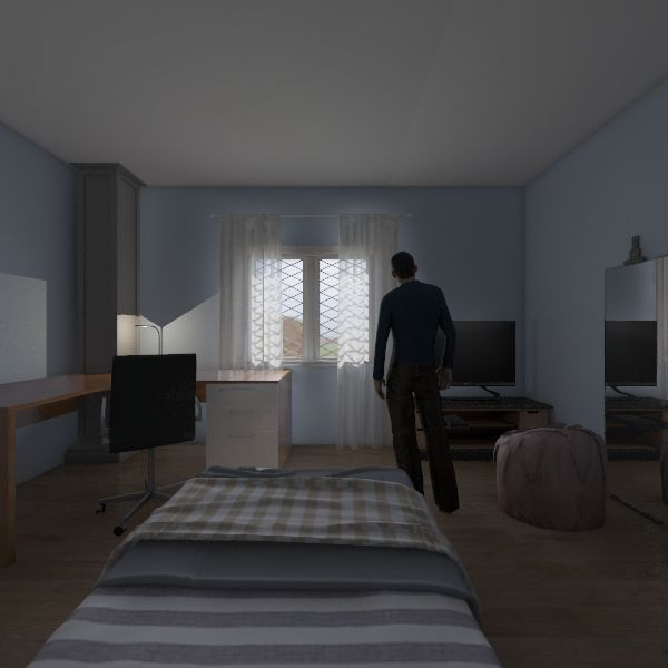 Ante Soba Interior Design Render