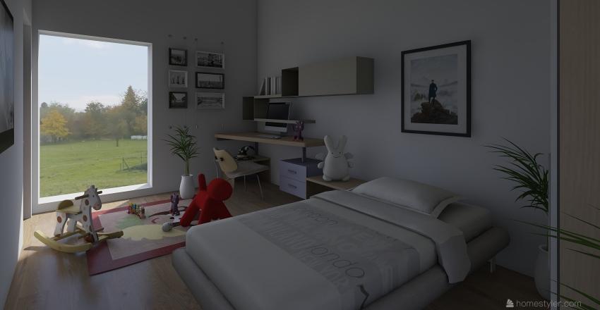 HOSPIS CELLULA Interior Design Render