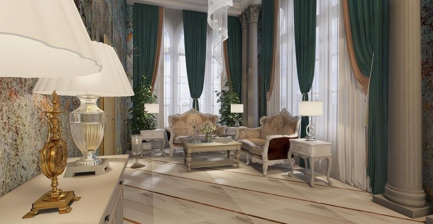 restoran Interior Design Render