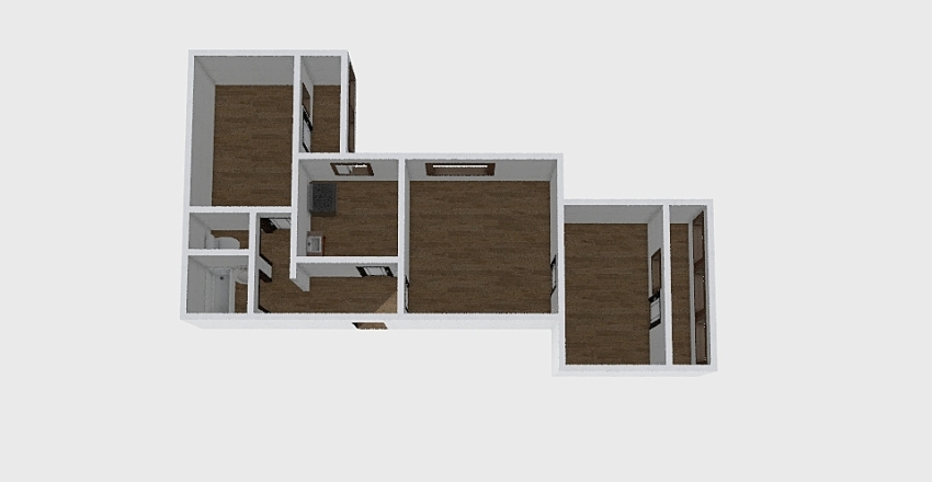 3-комн_0232 Interior Design Render