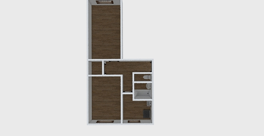 2-комн_038_14 Interior Design Render