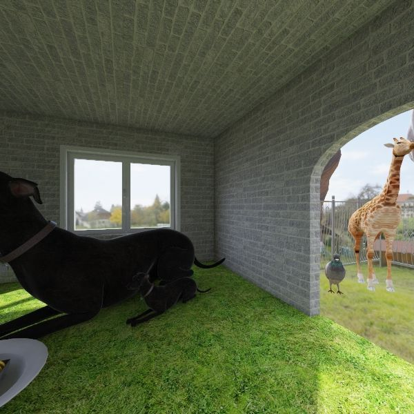 zoo Interior Design Render