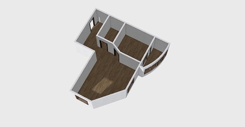 1-комн_0361 Interior Design Render
