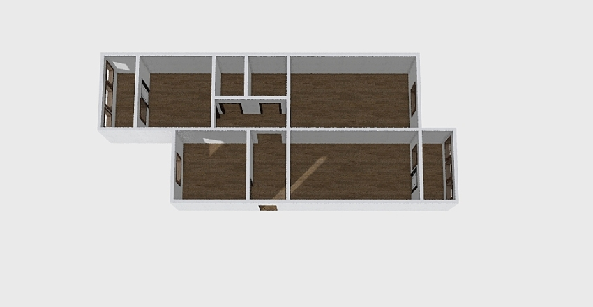 3-комн_0230 Interior Design Render