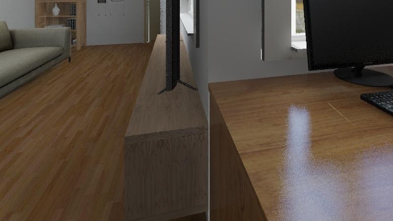 AP 7 Piso 1 Interior Design Render