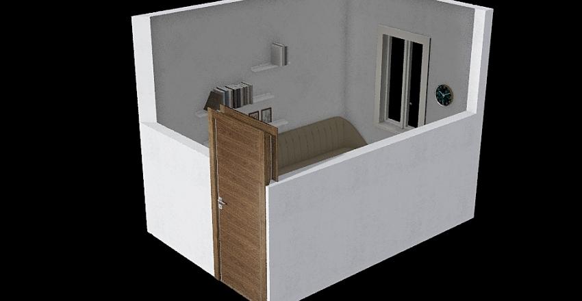 Oficina/Invitados Interior Design Render