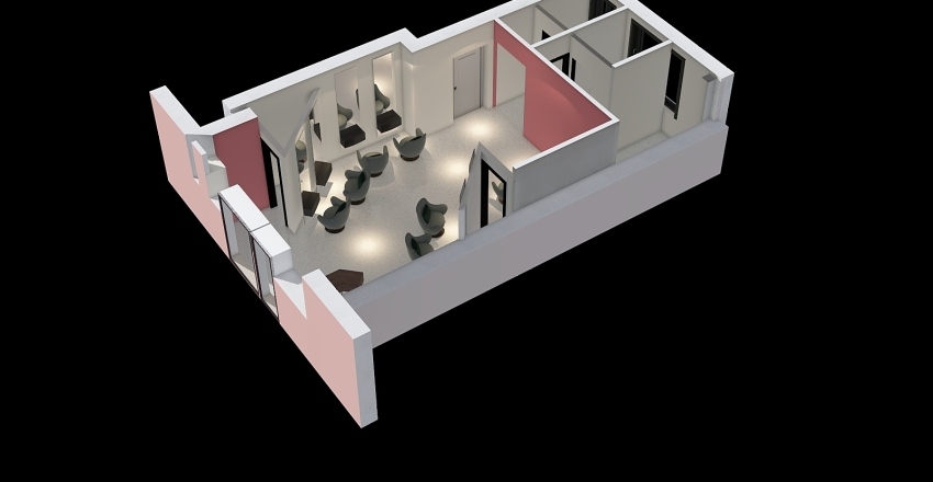 Stato Attuale NEG PARR Interior Design Render