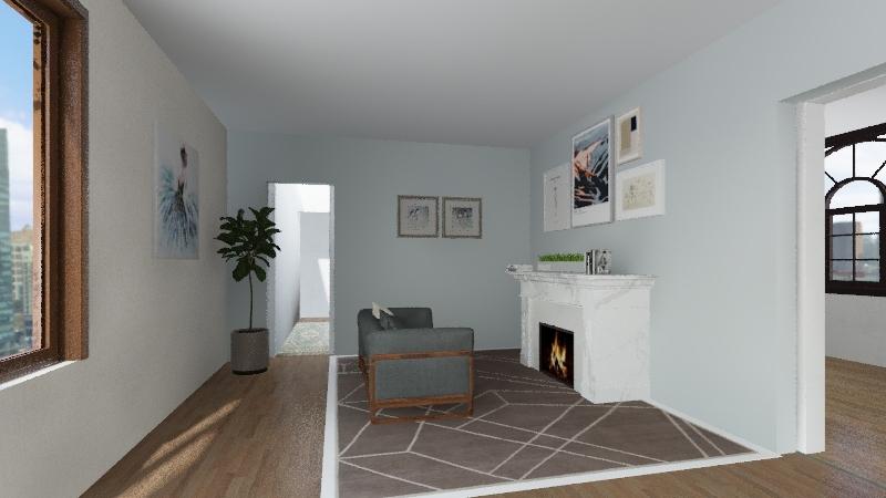 Fashion Interior Design Render