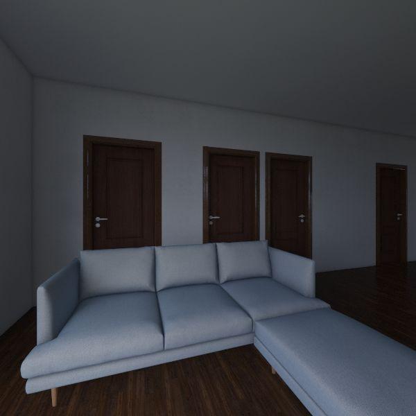Casa Manuel y Natalia Interior Design Render