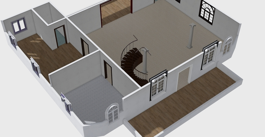 Ground 03 Interior Design Render