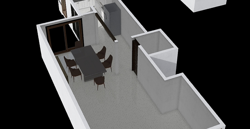 Proyecto Satelite Interior Design Render